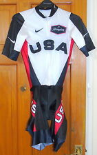 NEAR-PERFECT CONDITION USA NATIONAL TEAM CYCLING SKINSUIT. NIKE SMALL (SIZE 2)