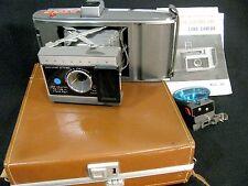 Vintage Polaroid Model J66 Camera with Electric Eye Land Camera and Hard Case
