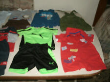 Boys 21 piece summer mixed clothing lot size 6-9 months