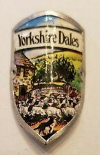 Yorkshire Dales, UK Stocknagel, Hiking Medallion, Badge, Shield, Pin, GP13-35
