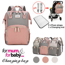 Baby Diaper Nappy Mummy Changing Bag Set Backpack Large Hospital Multi-Function
