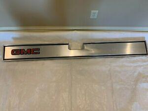 1981-1987 GMC Tailgate Molding Band Pickup Truck Trim Tail Gate Insert Panel