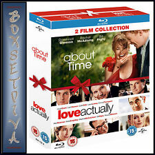 ABOUT TIME & LOVE ACTUALLY  -   *BRAND NEW BLURAY REGION FREE*