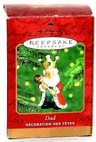 2000 Hallmark Keepsake King Dad Christmas Ornament.