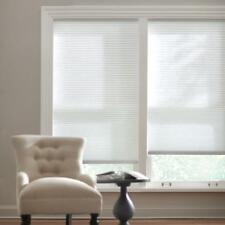 Home Decorators Snow Drift 9/16 in. Cordless Light Filtering Cellular 31.5 x 48