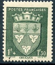 STAMP / TIMBRE FRANCE OBLITERE N° 556  BLASON / ORLEANS