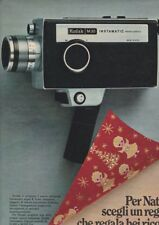Pubblicità anni 60 KODAK M30 cinepresa instamatic advertising 1969 RARA