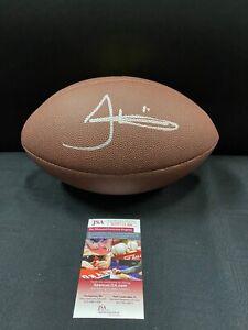 TYREEK HILL KANSAS CITY CHIEFS SIGNED NFL FOOTBALL JSA WITNESS COA CHAMPS!