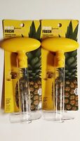 Good Cook PROFRESHIONALS Pineapple Slicer And Corer *2 PACK* FAST SHIPPING LOT