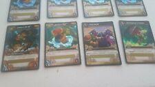 WoW TCG Loot Cards - LOT of 9 - Paint/Sandbox/Foosteps of Illidan/Landros Lol XT
