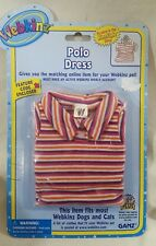 Webkinz Polo Dress fits most  cat dog pet CLOTHING new with code