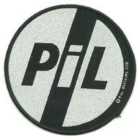 PUBLIC IMAGE LIMITED logo NEW - WOVEN SEW ON PATCH official merchandise PIL