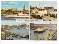 uralte AK Im Hamburger Hafen verschiedene Ansichten //21