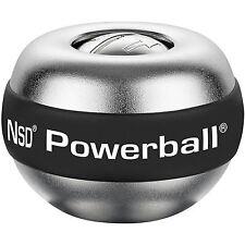 Kernpower Powerball Der Große Titan | Arm Handtrainer Gyro Exerciser Alu-Silber
