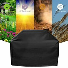 """BBQ Gas Grill Cover 57"""" Barbecue Protection Waterproof Outdoor Heavy Duty Black"""