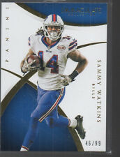 SAMMY WATKINS 2015 PANINI IMMACULATE COLLECTION CARD #62 /99