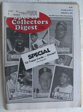 """1983 February 4 """"Sports Collector's Digest"""", 182 pages"""