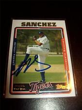 Humberto Sanchez > Tigers, Yankees - Autographed Card - 2005 Topps UH232