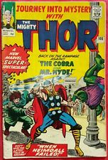 Journey Into Mystery With Thor 105 Marvel Silver Age 1964 COBRA & MR HYDE fn+