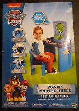 Nichelodeon Pop Up Pretend Table & Chair Set Command Center