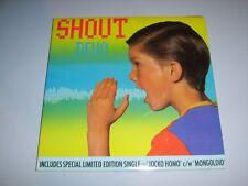 "DEVO - Shout UK 1985 Warner Bros 7"" doublepack"