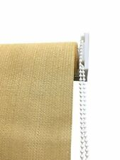 8x6ft Outdoor Window Shade Fabric Patio Sun Roll Up Exterior Shade Wheat Color