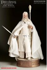 """SIDESHOW LORD OF THE RINGS Premium Format """"Gandalf the White"""" Statue 1:4 Scale"""