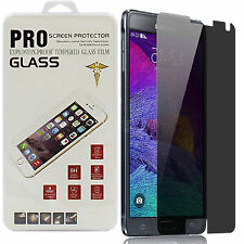 Anti-spy Privacy Tempered Glass Screen Protector For Samsung Galaxy S5 S6 Note 4