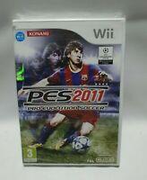 Pro Evolution Soccer 2011 Nintendo Wii - NEW ORIGINALLY SEALED