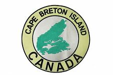 CAPE BRETON CANADA Embroidered Iron-On PATCH CREST BADGE..XX-LARGE