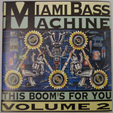 MIAMI BASS MACHINE - This Booms For You Volume 2 CD - Import