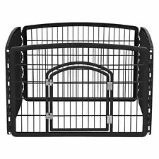 New listing Large Indoor Outdoor Dog Pet Playpen Exercise Pen Play Yard Cage Kennel Fence
