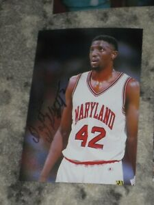 Maryland Terrapins WALT WILLIAMS Signed 4x6 Photo BASKETBALL TERPS AUTOGRAPH 1