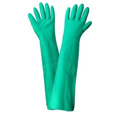 "FrogWear 522. Elbow Length (19"") Heavyweight Nitrile Gloves. 1 Pair, XXL"