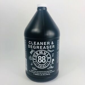F88 DEGREASER 1 GAL. CLEANER AND DEGREASER FORMULA 88