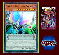 New Manga Arc V - 5 Yu-Gi-Oh! Odd-Eyes Phantasma Dragon TCG Free & Fast Shipping