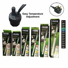 Aquarium Heater Fish Tank Submersible HIDOM Thermostat & FREE Thermometer