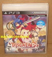 PS3 Disgaea D2 A Brighter Darkness Bundle New Sealed (Soundtrack & Art Print)