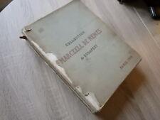 catalogue COLLECTION MARCZELL DE NEMES de BUDAPEST Vente Paris JUIN 1913
