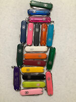 Victorinox Classic SD Mini Swiss Army Pocket Knife Assorted Colors (USED) 58MM