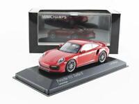 Minichamps 410067170 Porsche 911 Turbo S 2016 Red 1:43 Scale