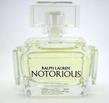 RALPH LAUREN NOTORIOUS Woman's Miniature Eau De Parfum Splash 0.25 oz/7 ml NEW