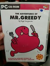 The Adventures of Mr Greedy  -  PC GAME - FREE POST
