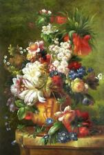 "High Quality Oil Painting ""Bouquet Flowers"" 24""x36"""