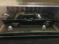 Lincoln continental James bond 007  Goldfinger 1/43 Fabbri diorama N°48