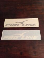 Pro Line Boats Vinyl Decal