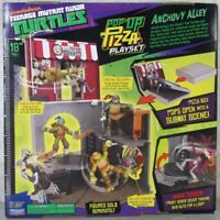 """TEENAGE MUTANT TURTLES Fold Out Pizza Box Playset Toy for 5"""" action figures"""