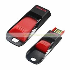 SanDisk Red USB 32GB 32G Cruzer Edge Flash Pen Drive New Lifetime Warranty