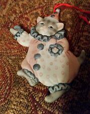 1985 Kitty Cucumber Flat Ornament