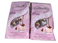 Lindt Lindor 2-Bags Neapoolitan Truffles White Chocolate Candy 5.1 oz,  07/2021
